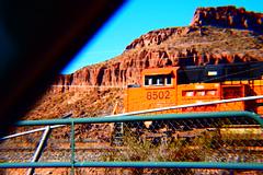 Almost got by me. (Woodypug) Tags: mcconino kingmancanyon bnsf arizona locomotive