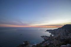 2018 winter on the Riviera [XV] (Olivier So) Tags: france frenchriviera riviera roquebrune roquebrunecapmartin vistapalace sunset sky clouds monaco montecarlo