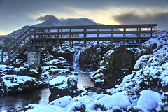 Walkers Bridge (SkyeBaggie) Tags: walkers bridge sligachan altdearg isleofskyescotland isleofskye skye hebrides highland landscape snow
