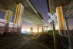 crossbuck (eb78) Tags: ca california nightphotography longexposure npy westoakland railroad eastbay
