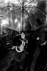 hands (㋡ Aziz) Tags: hand hands umbrella rain tears bw blackandwhite mono bokeh child girl white black dark night light wet winter old new city street streetphotography fujifilm xt2 16mm accross istanbul rainy mood cool portrait gren noise digital lightroom