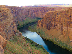 The Colorado River @ Page (jimsawthat) Tags: river coloradoriver page arizona canyon smalltown