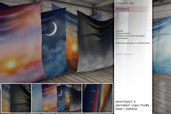 Sway's [Kailani] Tapestry . Sky | FLF (Sway Dench / Sway's) Tags: decor furniture home flf sways sl