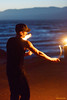 Poi on the Beach (naturalturn) Tags: firedance firedancing firespinning fire dance dancing spinning firepoi firepoispinning poi poispinning man ocean pacific pacificocean water night sutrobaths sutro baths pointlobos sanfrancisco california usa image:rating=4 image:id=199559