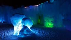 ice castle (czarmeg) Tags: ice castle dillon colorado cold winter nightscene lights frozen freeze