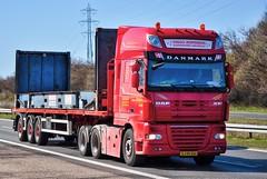 XJ95334 (12.04.04)_Balancer (Lav Ulv) Tags: semi trækker zugmaschine tractorunit tractor sattelschlepper sattelzug auflieger articulated artic trailer daf dafxf xf105 105460 euro5 6x2 2008 retiredin2012 afmeldt2012 viggojespersen vjtransport truck truckphoto truckspotter traffic trafik verkehr cabover street road strasse vej commericialvehicles erhvervskøretøjer danmark denmark dänemark danishhauliers danskefirmaer danskevognmænd vehicle køretøj aarhus lkw lastbil lastvogn camion vehicule coe danemark danimarca lorry autocarra motorway autobahn motorvej vibyj commercialvehicles