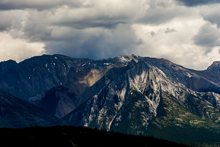 Dramatic light on the Rockies