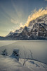 The hidden sun (Dani Maier) Tags: winter schnee eis kalt berge alpen see bergsee landschaft snow ice cold lake switzerland glarus schweiz landscape mountainlake frozen trekking wandern tourism travel klöntal klöntalersee