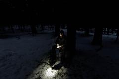 Casse-croûte avant la nuit (Samuel Raison) Tags: vercors hautsplateauxduvercors bivouac tente mountainhardwear hiver winter nikon nikond800 nikon281424mmafsg