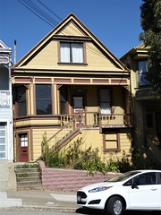San Francisco, CA, Noe Valley, Victorian House (Mary Warren 13.5+ Million Views) Tags: sanfranciscoca noevalley architecture building house residence historic victorian car stairs
