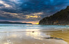 Cloudy Sunrise Seascape (Merrillie) Tags: daybreak landscape nature dawn waves waterscape water uminapoint newsouthwales clouds earlymorning nsw uminabeach beach ocean sunrise sky morning coastal sea outdoors seascape coast centralcoast cloudy australia