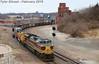 8/12 NS 1074(Lackawanna) Leads NB Empty Coal Drag Kansas City, MO 2-10-18 (KansasScanner) Tags: olathe lenexa kansascity kansas missouri kck kcmo bnsf ns train railroad ns1074 lackawanna locomotive