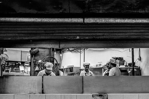 Men Working In Kitchen (Thailand)