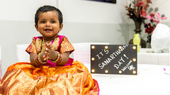 Sanarthana's Birthday (Raghunath Mohanan) Tags: childhood birthday first sanarthana australia indoor nikond750 nikon love cute sydney d750 family happiness happy smile life red