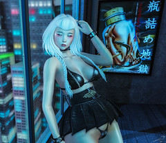Who Are You? (Chickadee Tremor) Tags: cx artposterstore azoury bauhausmovement beusy catwa deetalez maitreya paparazzi romp schadenfreude su theliaisoncollaborative wednesday avatar asian sl secondlife