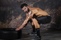 Model: Kent Whiteside (Joe Eisel) Tags: columbus ohio usa male man fit fitness power lifter powerlifter tattoo tat ink tamronsp70200mmf28divcusd bodybuilding model modelling