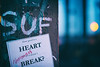 what good is a heart (Al Fed) Tags: 20171216 cologne text what good is heart if it doesnt break love unhappy post lights