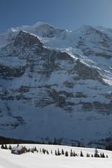 Wengen Jungfrau ( BE VS - 4'089 m - Erstbesteigung .... - Viertausender - Berg montagne montagna mountain ) in den Berner Alpen - Alps im Berner Oberland im Kanton Bern und Wallis - Valais der Schweiz (chrchr_75) Tags: hurni christoph chrchr75 chriguhurni februar 2018 schweiz suisse switzerland svizzera suissa swiss albumzzz201802februar albumsilberhorn silberhorn alpen alps berner oberland kantonbern berg montagne montagna mountain albumgletscherimkantonbern gletscher glacier ghiacciaio 氷河 gletsjer