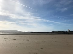 Photo of Burry Port break - me and my shadows
