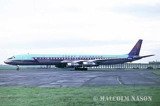 DOUGLAS DC8-61 N8786R TRANS CARIBBEAN