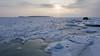 Cold beaty (Jukka M.) Tags: finland helsinki lauttasaari sunrise winter cold sea ice snowauringonnousuhelsinkijääkylmälumipakkanentalvi sky landscape snow