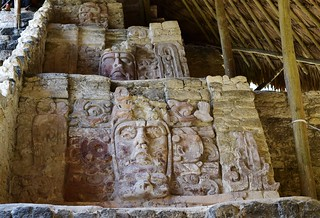 Reliefs of the temple of the Masks