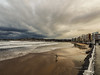 "Playa de San lorenzo Gijon amenaza tormenta (Itxaso Gaona ""itzaiza"") Tags: gijon"