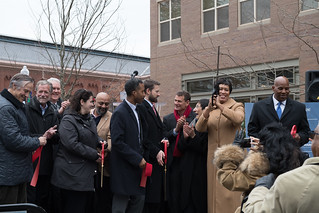 December, 15 Hines School Ribbon Cutting