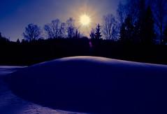Norway hasn't only fjords, now proven that it has curves (evakongshavn) Tags: norway norge purple snow winter light sun sunlight sunbeam winterwonderland landscape landschaft paysage chakra 3eyechakra hivernal hiver neige 7dwf