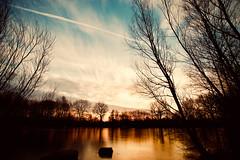wintertime (kuestenkind) Tags: sunrise sonnenaufgang winter schleswigholstein teich eis kalt