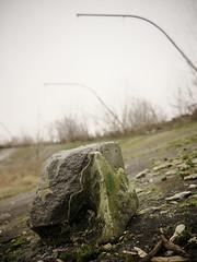 Stone of destruction (Darek Drapala) Tags: stones stadium city town dump ruin destroyer destruction warsaw warszawa panasonic poland polska panasonicg5 urban europe lumix light