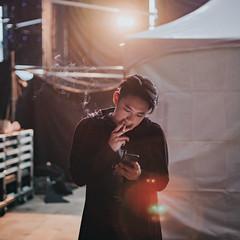 "MJ116 ""Big Thing"" concert @ Taichung (Randy Wei) Tags: mitakon fujifilm speedmaster zhongyi mj116 頑童 台中 live stage backstage musicians concert performance hiphop rapper rap taiwan taichung"