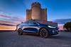 Tesla Model X (Casimemato) Tags: tesla castillo peñafiel modelx sunset anochecer angular 714 olympus