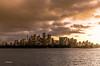 Warm glow over Sydney CBD. (Paul Babington Photography) Tags: sydney cbd sunset nikond750 ferry water city lights
