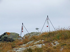 Recording wind chimes (2 sets) on Willapark headland, Boscastle (Philip_Goddard) Tags: europe unitedkingdom britain british britishisles greatbritain uk england southwestengland cornwall boscastle willapark windchimes recording
