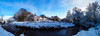 The river bends (stckrboy) Tags: calder wideangle pen winter nature olympuspen bluesky outdoor panorama field frozen epl7 penepl7 trees blue water scotland tree river airdrie lanarkshire cold sky snow olympus clouds white