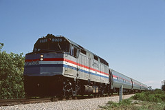 Amtrak F40PHR 376 (Chuck Zeiler) Tags: amtrak f40phr 376 railroad emd locomotive lakeland train chuckzeiler chz