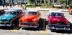 EXPLORED! Wow Factor‼️ Classic Cars in Havana, Cuba (ArtsySF©Marjie) Tags: iphone iphonese cars classic cuba havana classiccars