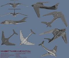 Marietta M8-B Leviathan (Cagerrin) Tags: lego system technic airplane aeroplane aircraft nuclear bomber seaplane flyingboat ldd legodigitaldesigner 3d download