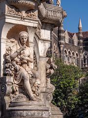 LR Mumbai 2015-549 (hunbille) Tags: birgittemumbai5lr india mumbai bombay fort hutatma chowk martyrs square martyrssquare flora fountain florafountain statue