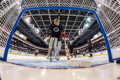 """Kansas City Mavericks vs. Cincinnati Cyclones, February 3, 2018, Silverstein Eye Centers Arena, Independence, Missouri.  Photo: © John Howe / Howe Creative Photography, all rights reserved 2018. • <a style=""""font-size:0.8em;"""" href=""""http://www.flickr.com/photos/134016632@N02/40119449661/"""" target=""""_blank"""">View on Flickr</a>"""