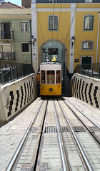 Lisbon #18 The climb (Timster1973 - thanks for the 15 million views!) Tags: lisbon streets portugal travel tourist street architecture europe warm sunny canon mirrorless m3 door window balcony building road wall tram transport transportation