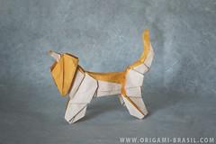 """39\365 Afghan Hound by """"LLH"""" (origami_artist_diego) Tags:"""