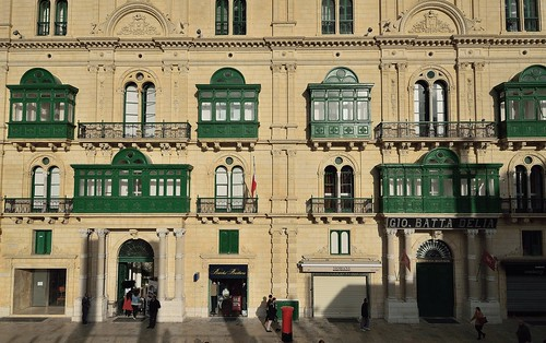 La Valletta (Malta) - Republic Street