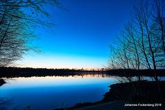 Blaue Stunde (grafenhans) Tags: sony alpha 68 alpha68 a68 sigma 4056 ultraweitwinkel uww heidesee sonnenuntergang licht light natur landschaft landscape grafenwald bottrop nrw