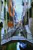 Venice (Jurek.P) Tags: wenecja venice italy włochy kanał canal bridge architecture scan 35mm minoltadynax7000i europe boats