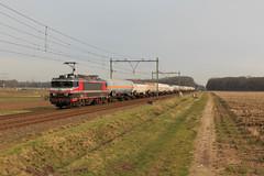 CT 1619 + gasketeltrein naar DSM Lutterade (Durk Houtsma.) Tags: keteltrein slo limburg gasketelwagentrein lutdsm dsm sloe sintjoost vtg 1619 captrain ct nederland nl