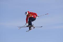 Ski acrobatique - Slopestyle (France Olympique) Tags: 2018 coree freestyleskiing games illustration jeux jeuxolympiques jo korea olympic olympicgames olympics olympiques pyeongchang slopestyle south sport sud winter women coréedusud