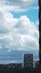 DSCF0757 (rugby#9) Tags: newcastle newcastleupontyne gb cloud clouds bridge tynebridge bluesky arch uk