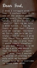 Life Quotes & Inspiration : Prayer Of The Day – Letting Go Of Fears — Dear Heavenly Father, I know I str… (omgquotes.com) Tags: quotes life love inspirational motivational
